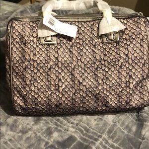 Brand new snake print coach bag